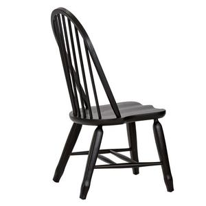Liberty Furniture Industries - Bow Back Side Chair - Black