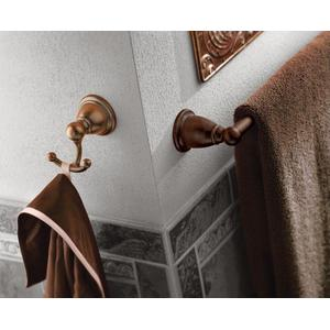 "Brantford oil rubbed bronze 24"" towel bar"