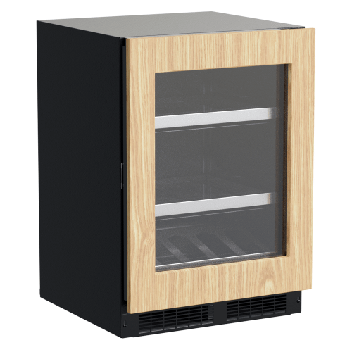 Marvel - 24-In Professional Built-In Beverage Center With Reversible Hinge with Door Style - Panel Ready Frame Glass