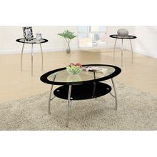Anton 3pc Coffee Table Set