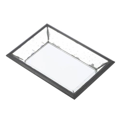 Mirrored Square Tray
