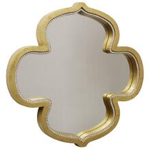 Gold Kathleen Mirror with Clear Glass