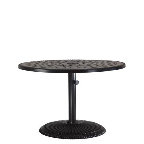 """Gensun Casual Living - Pedestal Table Pole For 21"""" Chat Height Table with Pedestal Table Base"""