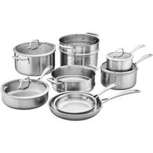 ZWILLING Spirit Stainless 3-ply 12-pc Stainless Steel Cookware Set