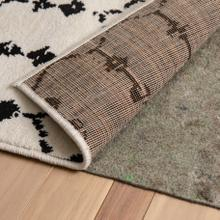 """See Details - Slide-Stop® Multi-Surface Reversible Non-Slip Cushion Rug Pad, 1\/4"""" Thick, Floor Protection, for 4'x6' Area Rug, Gray"""