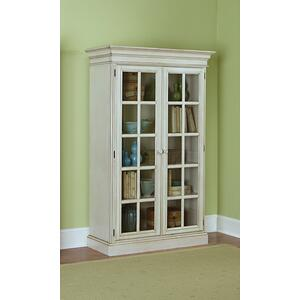 Hillsdale Furniture - Pine Island Large Library Cabinet - Old White