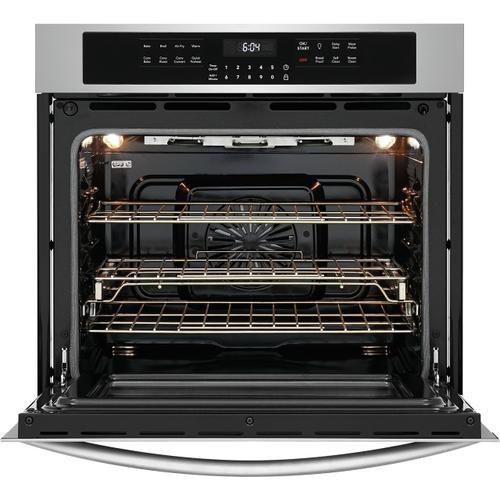 Frigidaire - Frigidaire Gallery 30'' Single Electric Wall Oven with Air Fry