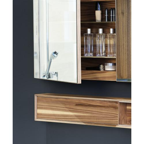 """Mirrored cabinet Recessed - 30"""" Height"""