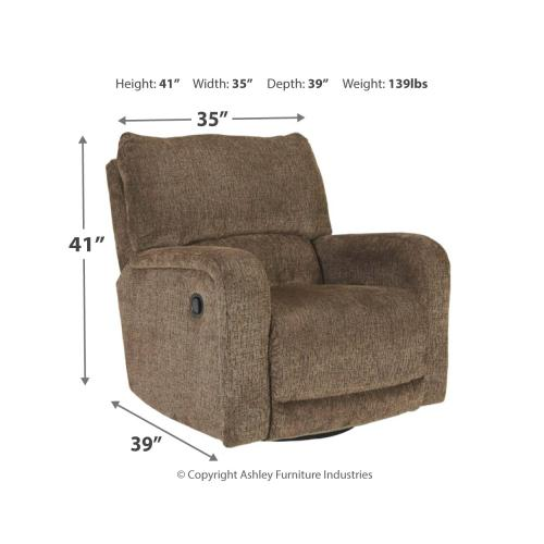 Wittlich Swivel Glider Recliner