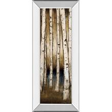 """Birch Landing I"" By St Germain Mirror Framed Print Wall Art"