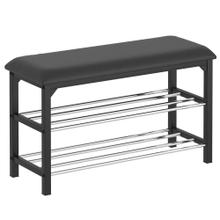 Foster 2-Tier Bench in Black