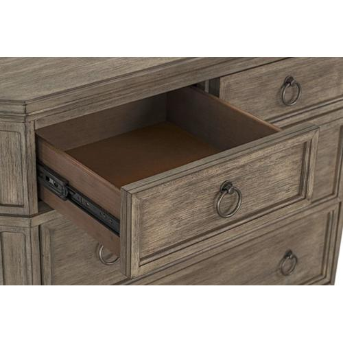 Tuscany 6-Drawer Chest, Brown