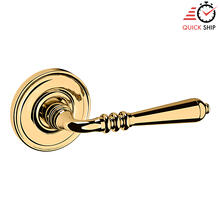 See Details - Lifetime Polished Brass 5107 Estate Lever with 5048 Rose