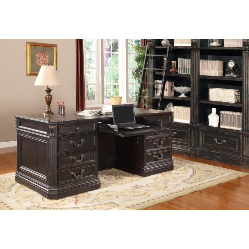 GRAND MANOR PALAZZO Double Pedestal Executive Desk