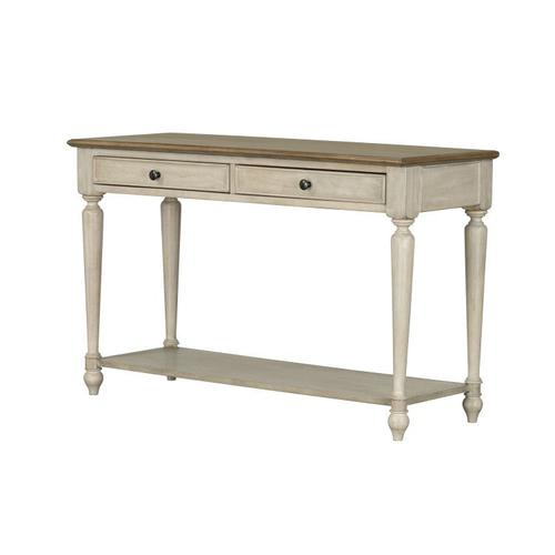 Standard Furniture - Montgomery Light Console Table, Two Tone Finish