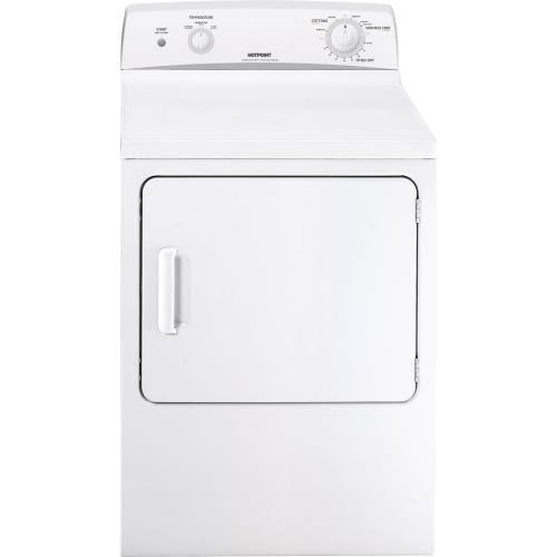 Hotpoint® 6.0 cu. ft. capacity Dura Drum electric dryer