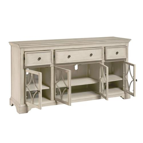 Cream Four Door Console