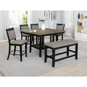 Fulton Counter Ht. Table Black