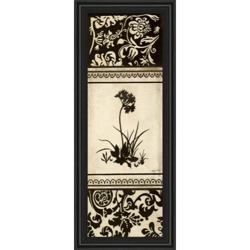 "Classy Art - ""Garden Shadow I"" By Kimberly Poloson Framed Print Wall Art"