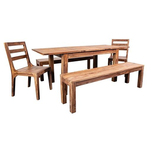 """Urban 52"""" Dining Table Set With 24"""" Butterfly Extension, HC1126S01"""
