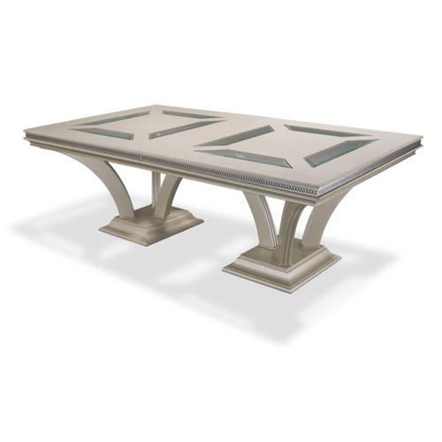 Large Rectangular Dining Table (2 pc)