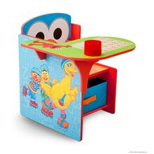 Sesame Street Chair Desk with Storage Bin