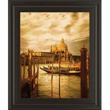 """Venezia Sunset Il"" By Thompson Framed Print Wall Art"