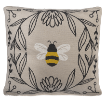 Bee Knit Pillow