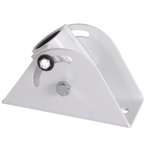 Angled Ceiling Plate, White