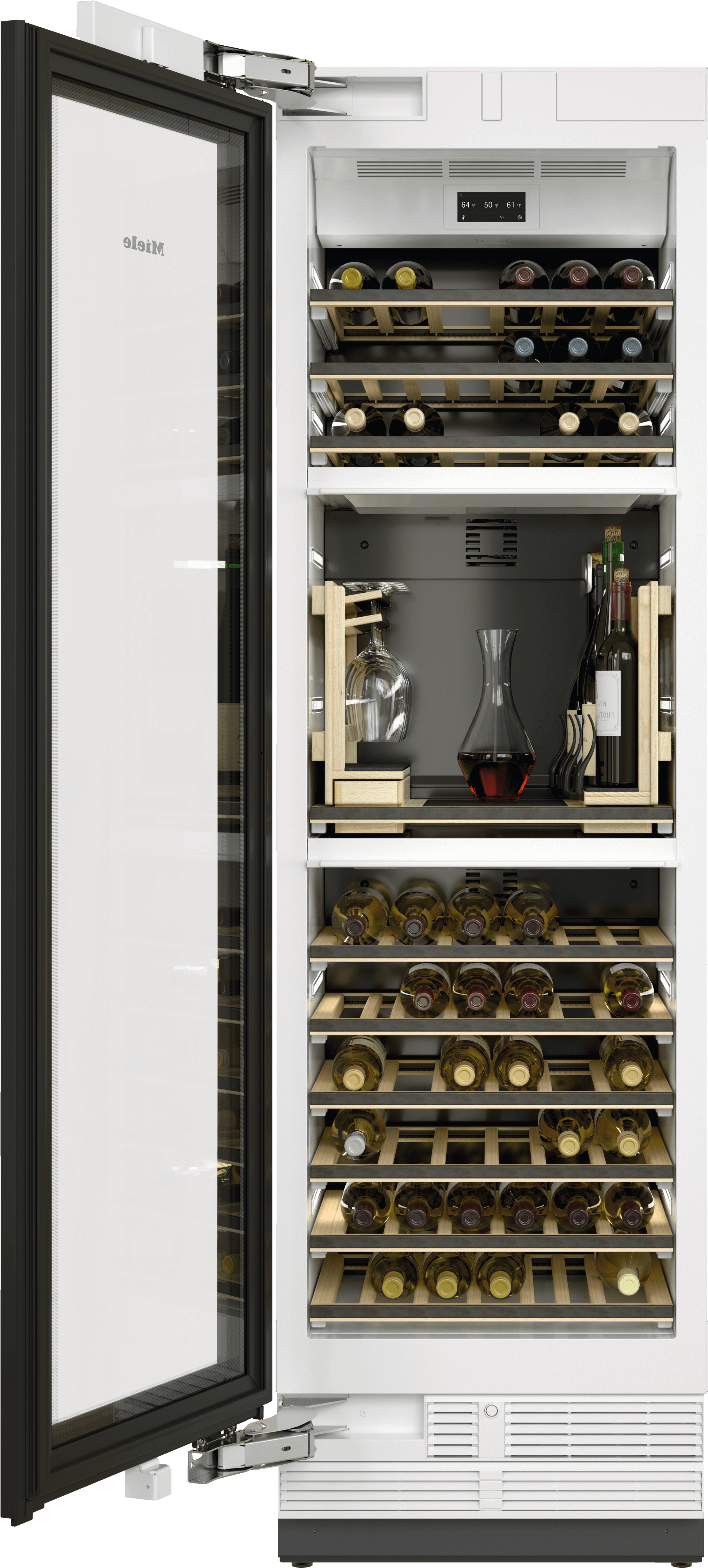 MieleKwt 2672 Vis - Mastercool Wine Conditioning Unit For High-End Design And Technology On A Large Scale.