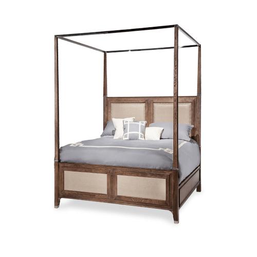 Biscayne West Queen Canopy Bed (5 pc) Haze
