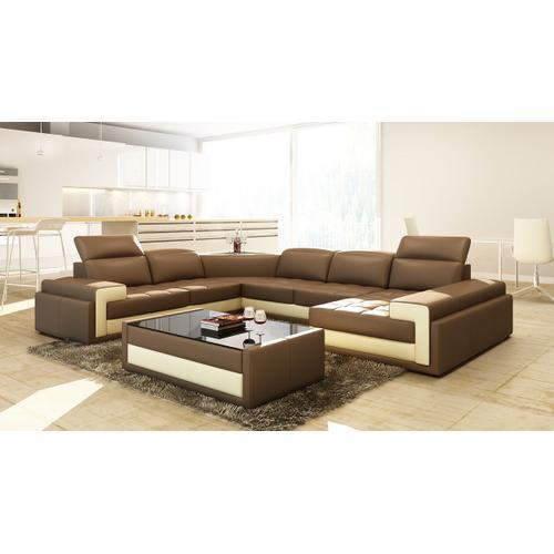 Divani Casa 5104 Modern Bonded Leather Sectional Sofa
