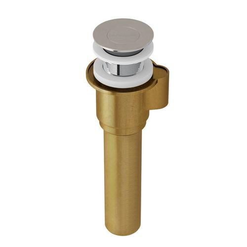 IntelliDrain™ Click Clack for sub floor installation - Brushed Nickel