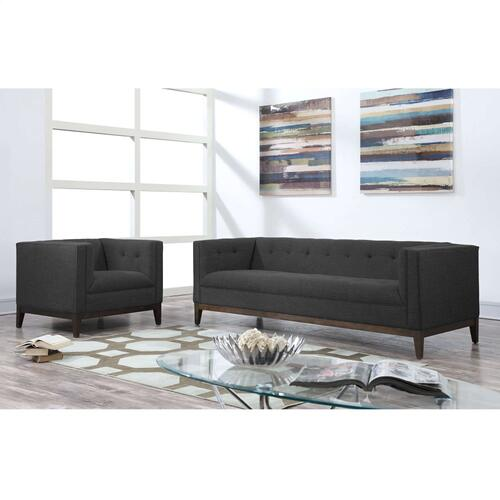 Gavin Grey Linen Sofa
