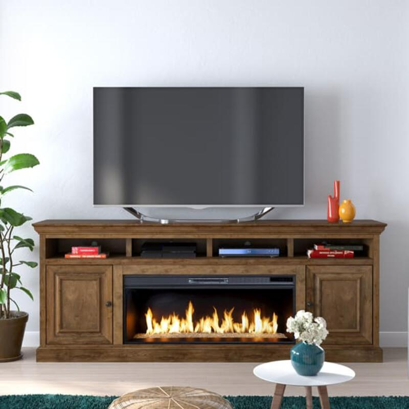 "Largo 87"" Fireplace Console"