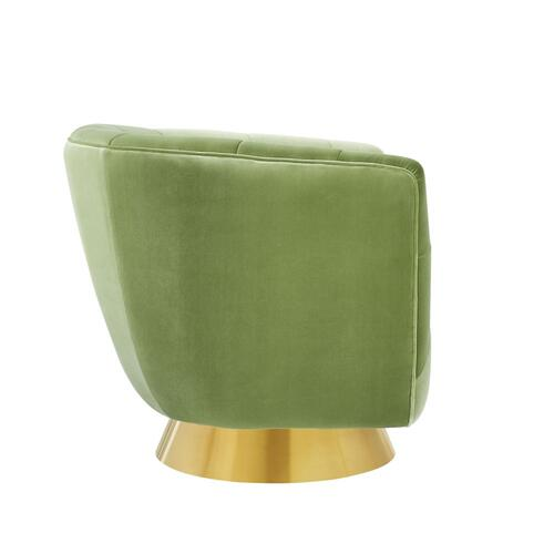 Hanna Swivel Chair, Avocado