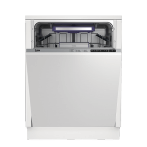 BekoTall Tub Dishwasher with 14 place settings, 45 dBa Fully integrated panel ready
