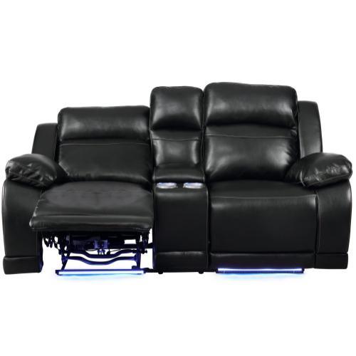 New Classic Furniture - Vega Console Loveseat W/pwr Fr