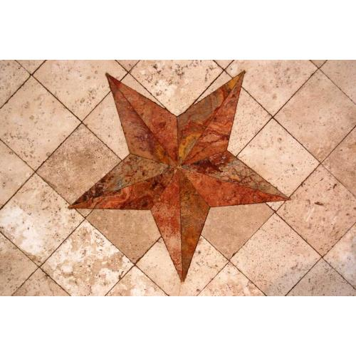6 Ft Rope Marble W/marble Star