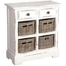 See Details - Storage Cabinet - Distressed White
