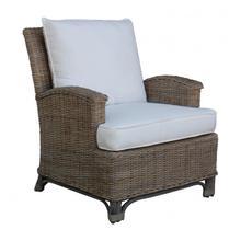 Exuma Lounge Chair w/beige cushion