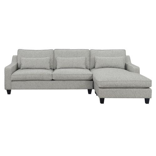 Emerald Home Kenya Lsf Chaise W/1 Pillow Tan U4539-11-09