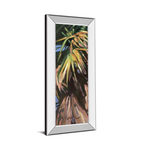 "Classy Art - ""Wild Palm I"" By Suzanne Wilkins Mirror Framed Print Wall Art"