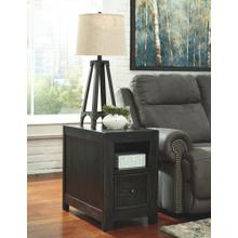 Gavelston Chair Side End Table Rubbed Black
