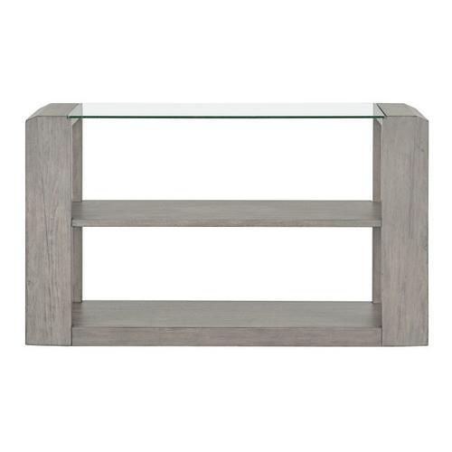 Standard Furniture - Sonata Grey Console Table