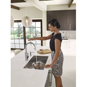 """1800 Series 22""""x18"""" stainless steel 18 gauge single bowl sink"""