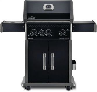 Rogue 425 BE SIB with Infrared Side Burner, Black Edition , Black , Natural Gas