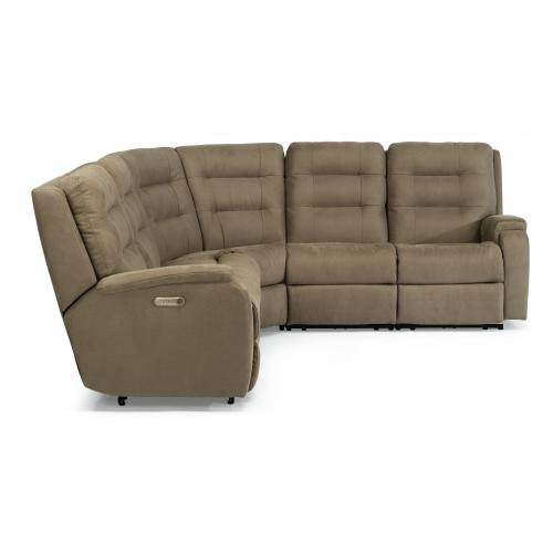 Arlo Power Reclining Sectional with Power Headrests & Lumbar