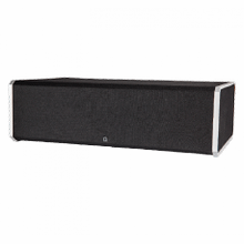 "High-Performance Center Channel Speaker with Integrated 8"" Powered Subwoofer and Bass Radiator"