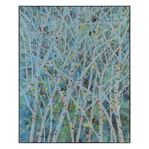 Ja Ding's Aqua Birches